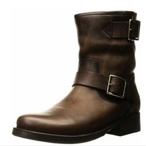 Frye Vicky Engineer Leather Boots